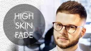high skin fade barber haircut men u0027s hair inspiration youtube