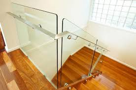 pin fixed glass balustrade for wooden stairs u2013 euroglass australia