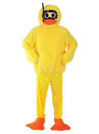 duck costume rubber duck costume maskworld