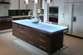 kitchen island tops inimitable kitchen island tops glass with mirror silver