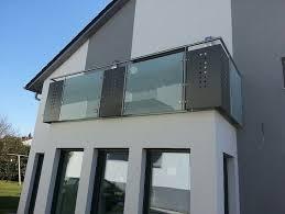 edelstahl balkon mit glas edelstahlgeländer mit glas und alu rettner ziegler balkongeländer