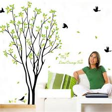 tree bird quote removable vinyl wall decal mural home art diy