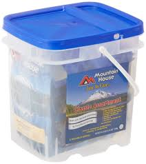 mountain house just in case classic assortment bucket 47 99