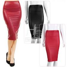 2017 women skirts velvet pu faux leather skirt high waist