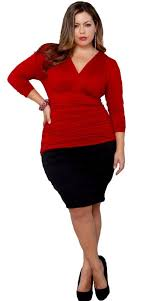 dresses for plus size hourglass figure pluslook eu collection