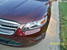 2010 ford taurus aftermarket tail lights ever seen a ford taurus with audi led headlights ijdmtoy blog for