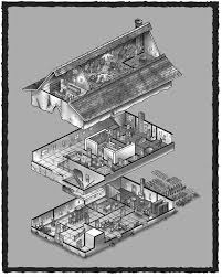 Haunted Mansion Floor Plan House In The Shade