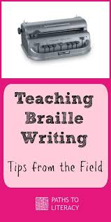 Writing System For The Blind 620 Best L Braille Images On Pinterest Visual Impairment Blind