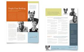 one page brochure template one page handout template fieldstation co