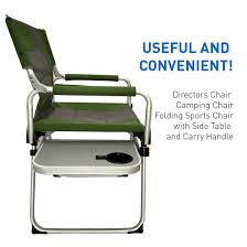 Aluminum Directors Chair Bar Height by Amazon Com Directors Chair U2013 Camping Chair U2013 Folding Sports Chair