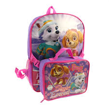 paw patrol backpack lunch kit