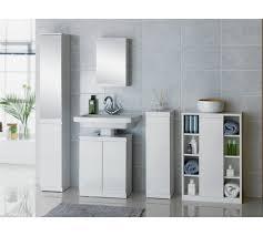 Floor Cabinet For Bathroom Buy Hygena Gloss Bathroom Floor Cabinet White At Argos Co Uk