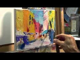 how to oil paint tips tricks with the palette knife youtube