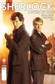 new artwork u0026 cover reveal for sherlock a study in pink 1