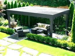 Pergola Garden Ideas Garden Pergola Contemporary Pergolas Contemporary Metal Pergolas