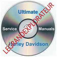 ultimate harley davidson workshop service manual collection