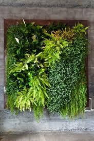 artificial vertical garden green wall green walls indoor herbs