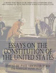 sample of reaction paper essay essays on essays on the constitution of the united states the essays on the constitution of the united states the federalist essay on the united states of