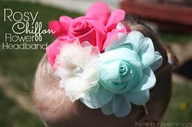 flower hairband diy projects hair flowers headbands
