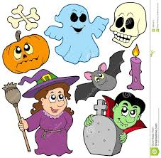 halloween cartoons background halloween cartoons stock illustration image 45107612