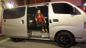 urvan nissan 2015 gastronomy by joy traveling in style with the new nissan nv350 urvan