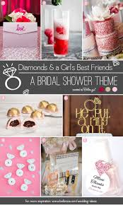theme bridal shower diamonds and a girl s best friends bridal shower theme unique