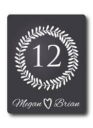 table number wine label chalkboard personalized wine labels