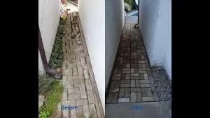 repair uneven pave brick garden path in yard without any cost