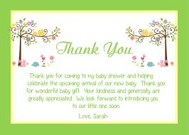 bridal shower thank you cards wording best shower