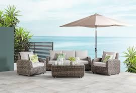 Outdoor Furniture Joondalup - vivian 5 piece outdoor modular lounge setting amart furniture