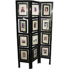 room divider with picture frames asian loft