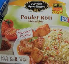 poulet cuisiné poulet rôti blé cuisiné tomates paprika raynal et roquelaure