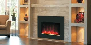 Electric Wallmount Fireplace Electric Fireplace Inserts In Spaces Contemporary With Wall