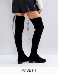womens thigh high boots size 11 thigh high boots the knee boots asos