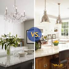 Above Kitchen Island Lighting Pendants Vs Chandeliers A Kitchen Island Reviews Ratings