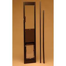 doggie door in glass door buy hale pet door panel standard cat u0026 dog door for sliding glass