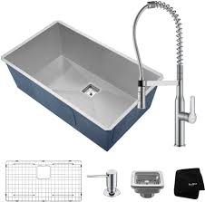 Kitchen Sink And Faucet Combinations Sink Faucet Combinations