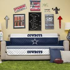 Dallas Cowboys Drapes by Amazon Com Nfl Dallas Cowboys Sofa Couch Reversible Furniture