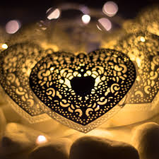 heart shaped christmas lights dalisay heart shaped battery operated string lights kiyolo