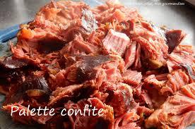 cuisiner la palette de porc palette de porc confite au four en cocotte mon colat mes