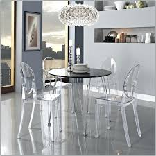 hygena savannah clear glass dining table and 8 cream chairs set