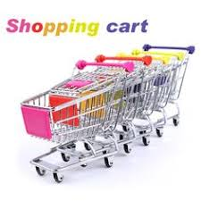 Mini Shopping Cart Desk Organizer Sosw Office Filing Trays Holder A4 Document Letter Paper Wire Mesh