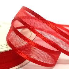 organza ribbon 10mm satin edge organza ribbon paper craft scrapbook