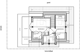 small efficient home plans gallery a laneway house for a family lanefab small