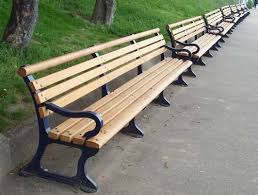 Bench Supports Based On A 19th Century Street Scene Bench The Promenade Is A Cast