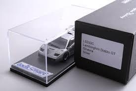 silver lamborghini diablo new 1 43 car model looksmart lamborghini diablo gt ginevra silver