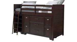 Bunk Bed With Dresser Brown Bunk Beds