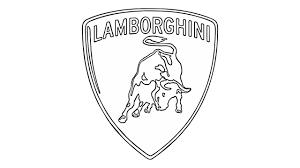 lamborghini sketch easy how to draw the lamborghini logo symbol youtube