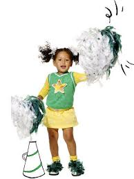 Cheerleader Halloween Costume Girls Quick Easy Diy Halloween Costumes