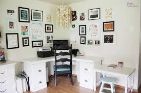 Corner Craft Desk Sewing Craft Room Tour Furniture Beingbrook